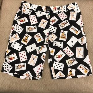 Loud Mouth Golf Short size 36 Poker Playing Cards